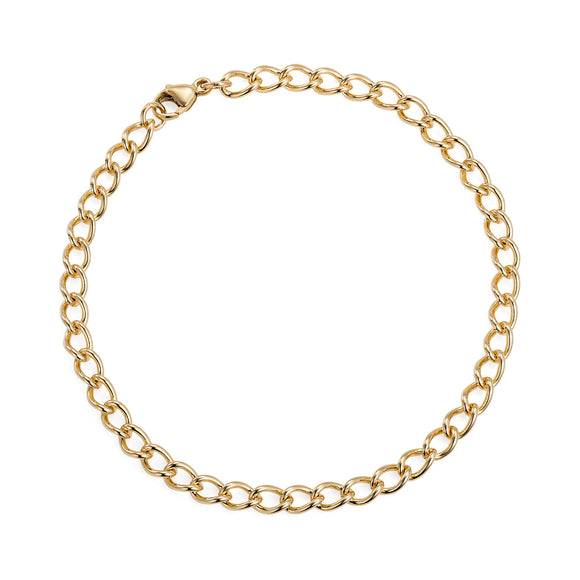 Gold Curb Bracelet - Joy Everley Fine Jewellers, London