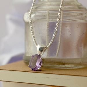 Amethyst Cocktail Necklace by Joy Everley