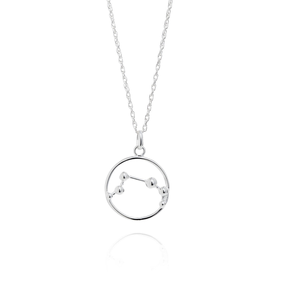 Yasmin Everley Aries Astrology Silver Necklace