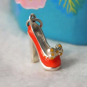 Silver Bow Shoe Charm by Joy Everley