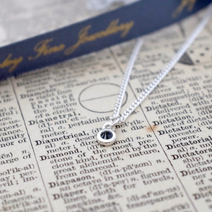 Black Diamond Necklace by Joy Everley