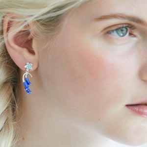 Bluebell Earrings by Joy Everley
