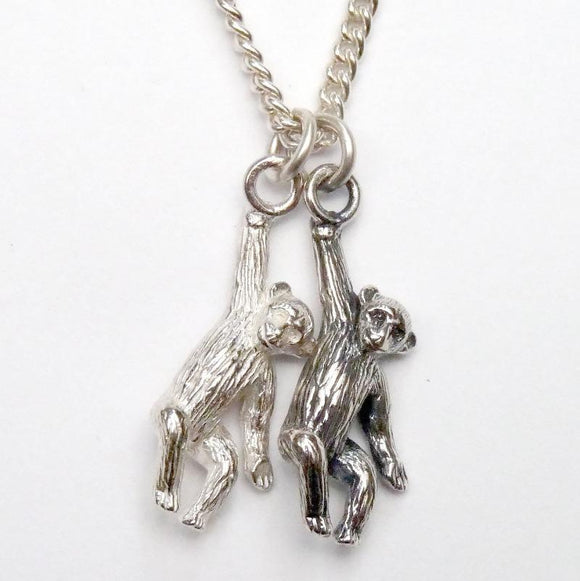 Cheeky Monkeys Necklace