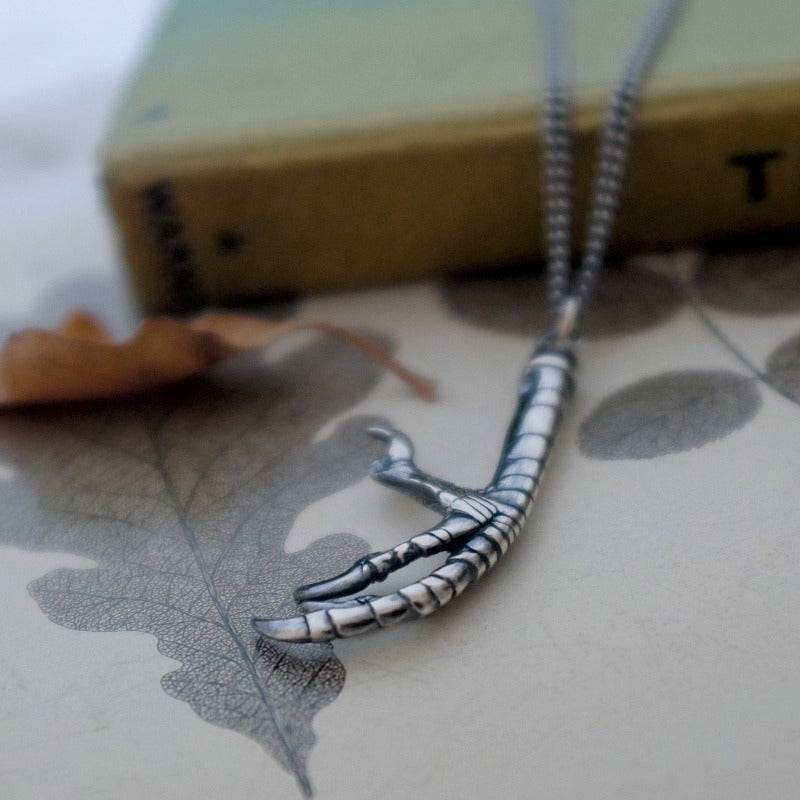 Buzzard Claw Necklace - Joy Everley Fine Jewellers, London