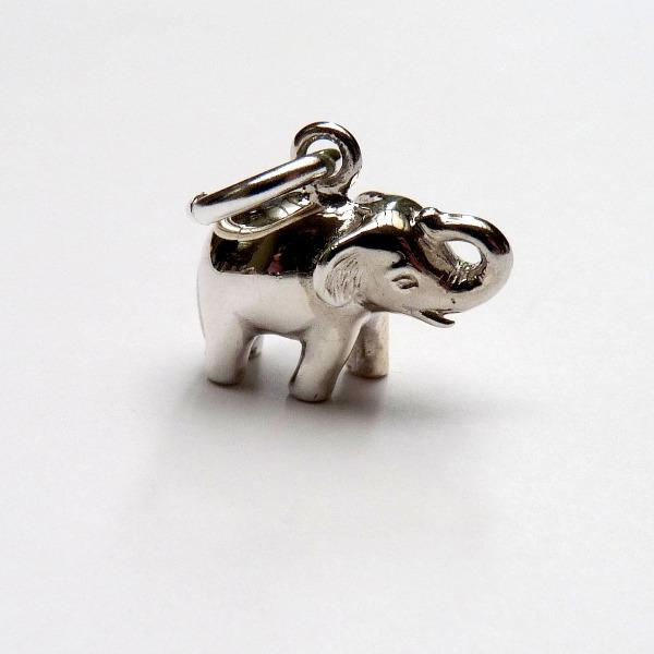 Lucky Elephant Charm - Joy Everley Fine Jewellers, London