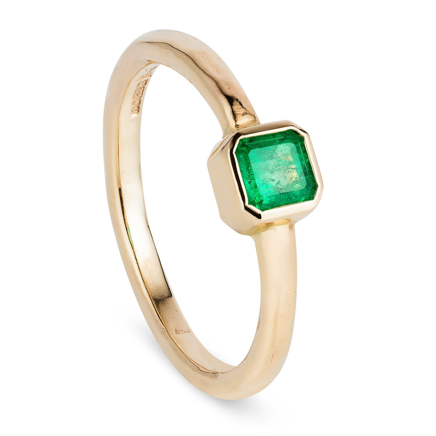 style emerald cocktail ring with vintage diamond reuven product halo cushion cut and