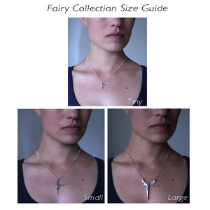 Focus Fairy Necklace with Cubic Zirconia