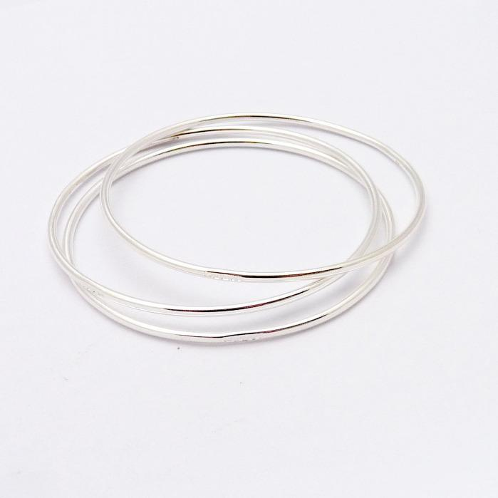 bangle co shop alfred silver jewellery bangles twist oxidized style free delivery sterling