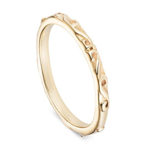 Gold Fine Baroque Ring - Joy Everley Fine Jewellers, London