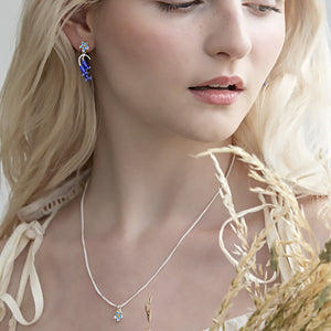 Forget Me Not Flower Pendant by Joy Everley