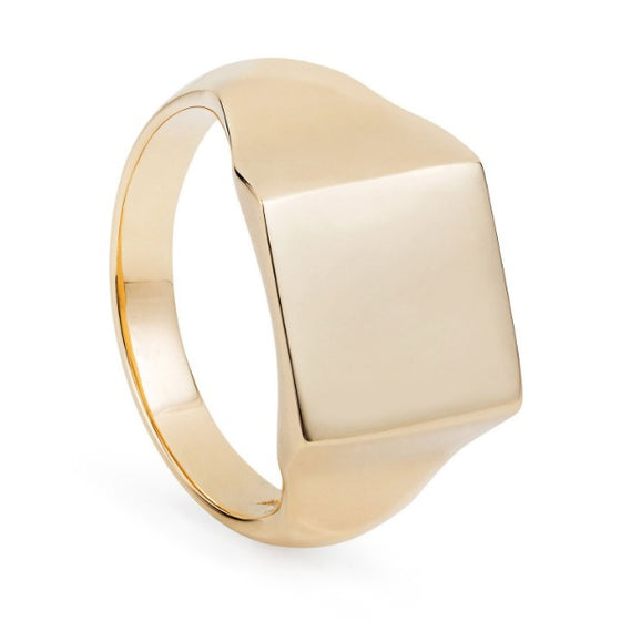 Gold Signet Ring - Joy Everley Fine Jewellers, London