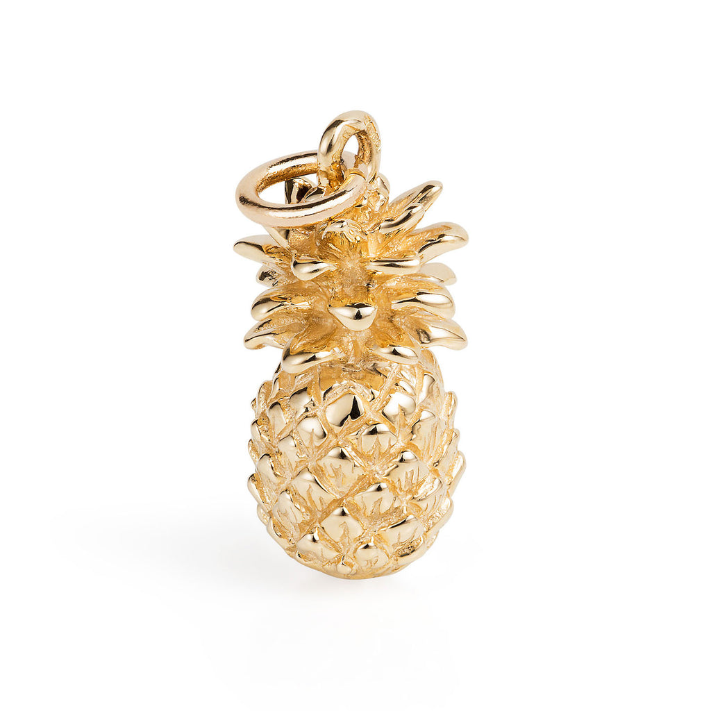 Gold Pineapple Charm