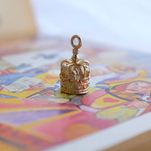 Silver or Gold Crown Charm by Joy Everley