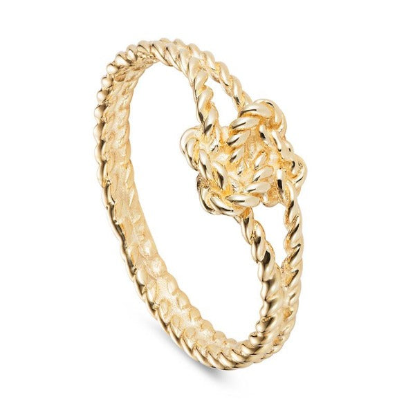Lover's knot ring by Joy Everley
