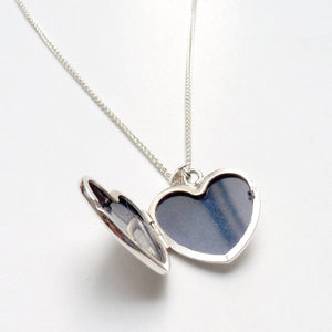 Heart Locket & Chain - Joy Everley Fine Jewellers, London