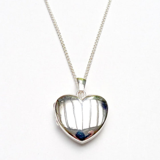 Heart Locket & Chain