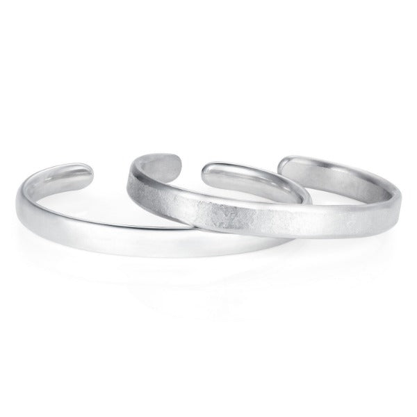 Smooth Heavy Oval Cuff - Joy Everley Fine Jewellers, London