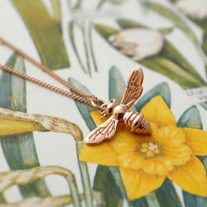 9ct Gold Honey Bee Charm by Joy Everley