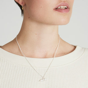 Silver or Gold Fox Necklace by Joy Everley