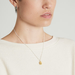 Vermeil and Silver Acorn Necklace by Joy Everley