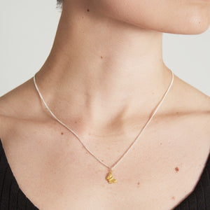 Vermeil Butterfly Necklace