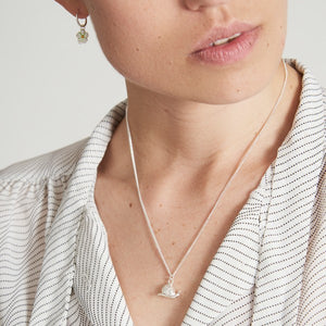 Silver Snail Necklace by Joy Everley