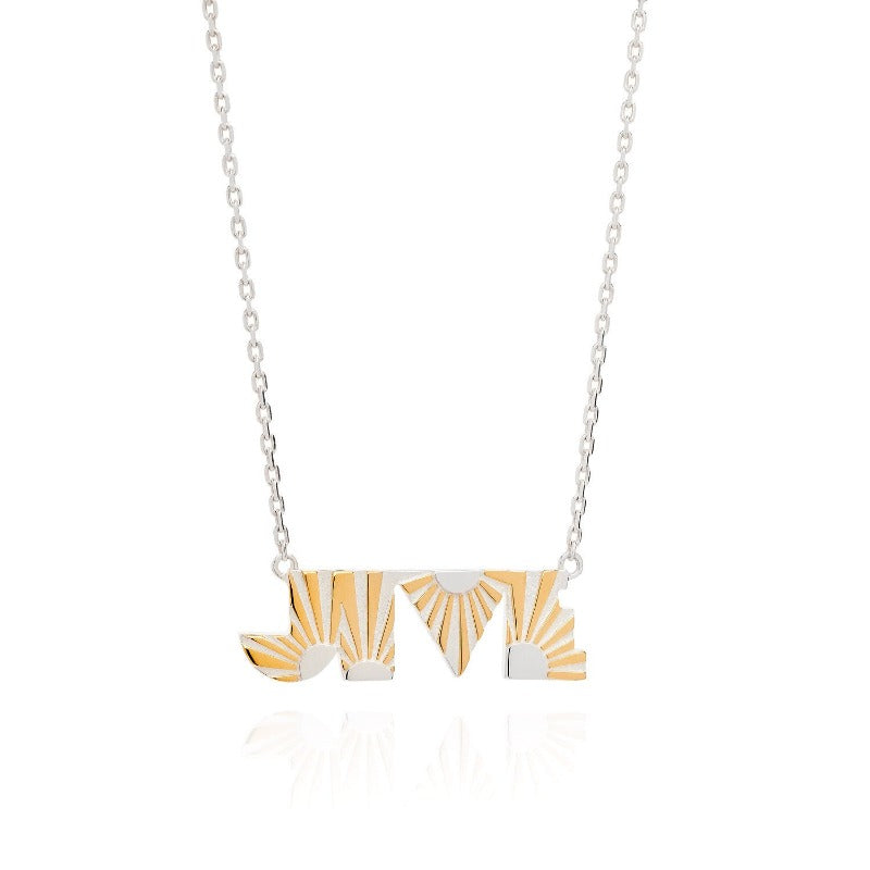 Jive Silver Necklace by Yasmin Everley