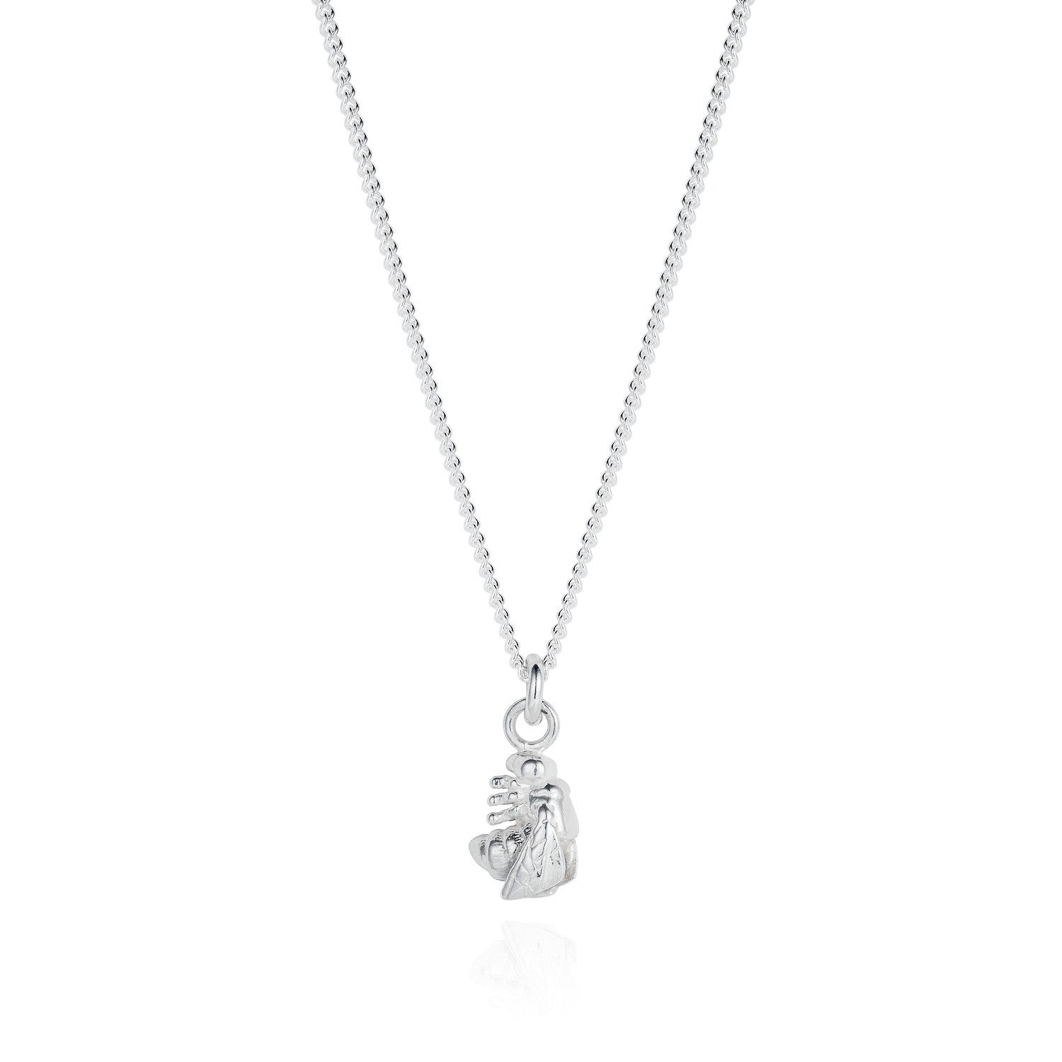 jewellers fine necklace london tiny joy silver pendant products everley bee