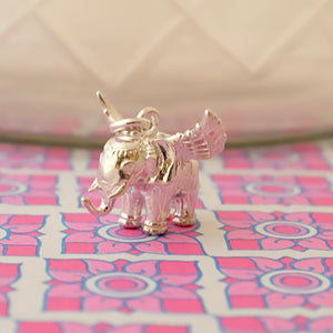 Winged Elephant Silver Charm by Joy Everley