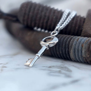 Key Heavier Necklace - Joy Everley Fine Jewellers, London