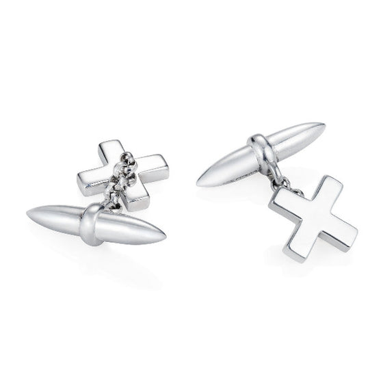 Kiss Cross Cufflinks