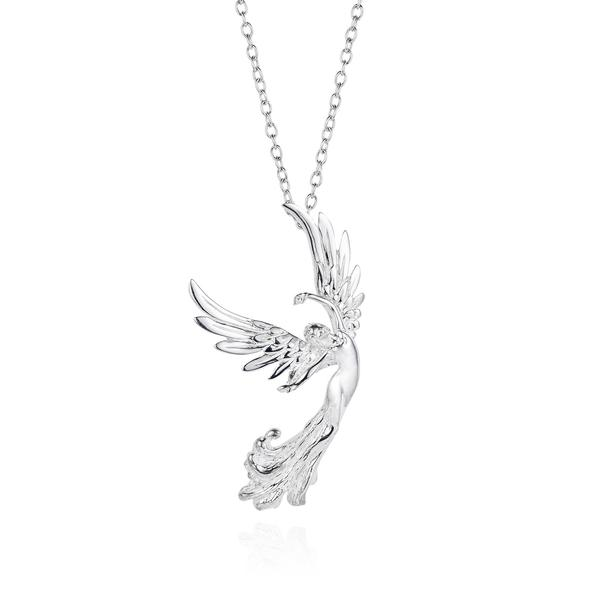 Joy Everley Angel of Grace Silver Necklace