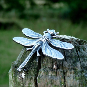 Large Dragonfly Necklace - Joy Everley Fine Jewellers, London