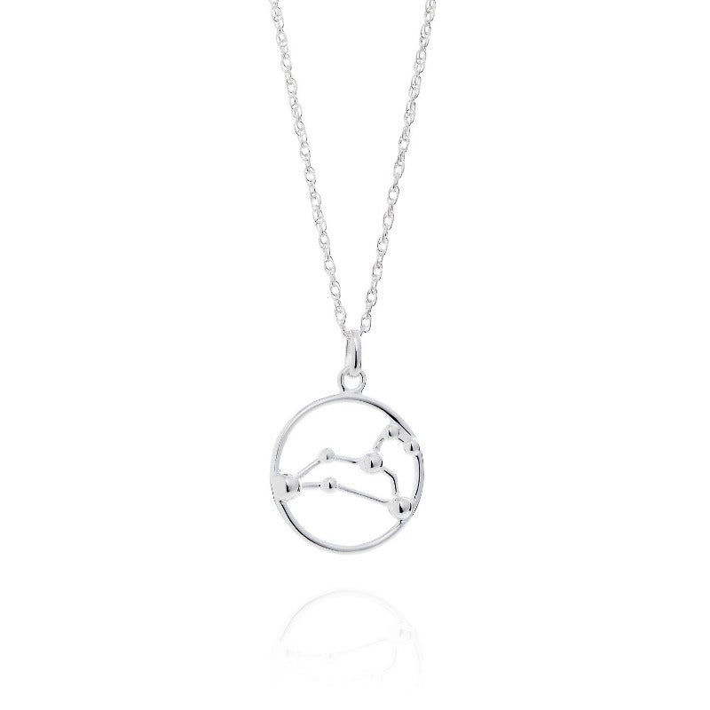 Leo Astrology Silver Necklace by Yasmin Everley