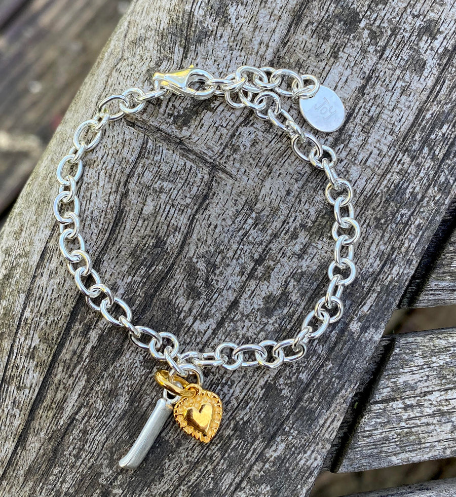 Lightest Joy Everley Silver Bracelet