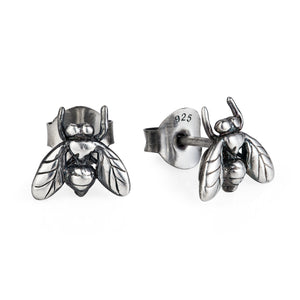 Little Fly Ear Studs - Joy Everley Fine Jewellers, London