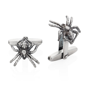 Little Spider Cufflinks - Joy Everley Fine Jewellers, London