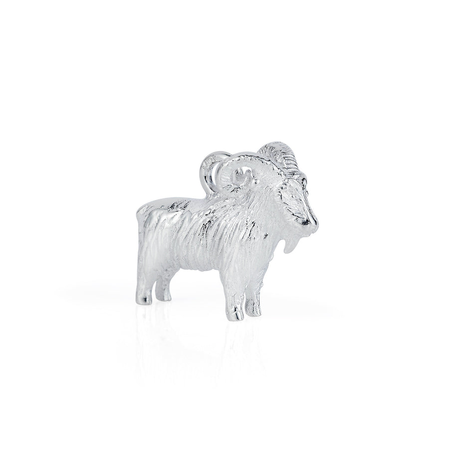 Mountain Goat Charm - Joy Everley Fine Jewellers, London
