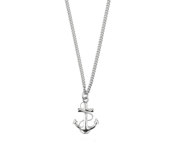 Anchor Necklace - Joy Everley Fine Jewellers, London