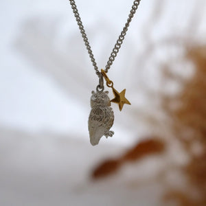 Night Owl Necklace - Joy Everley Fine Jewellers, London