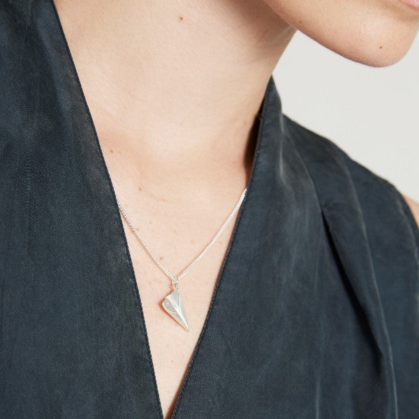 Paper Plane Necklace - Joy Everley Fine Jewellers, London