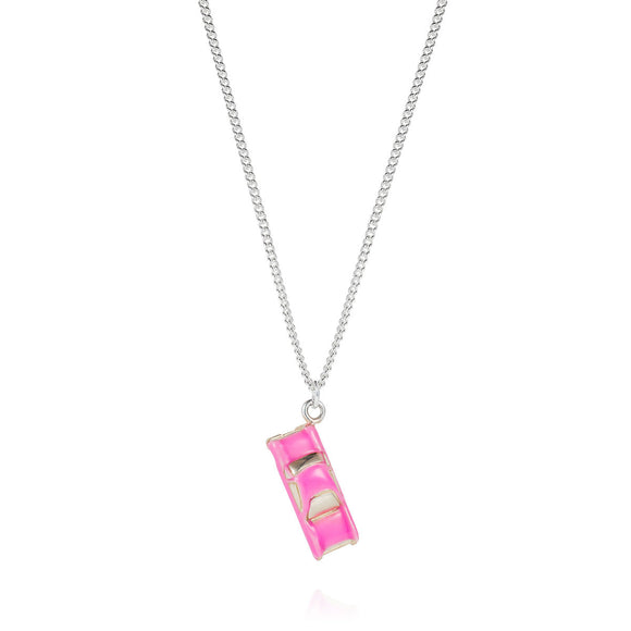 Pink Cadillac Necklace