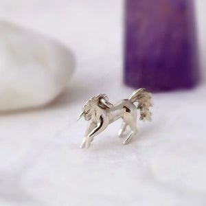 Prancing Unicorn Charm - Joy Everley Fine Jewellers, London