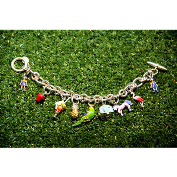 'PRIDE' Charm Bracelet - Joy Everley Fine Jewellers, London