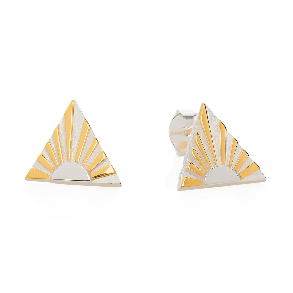 Ray A Ear Studs Art Deco Earrings