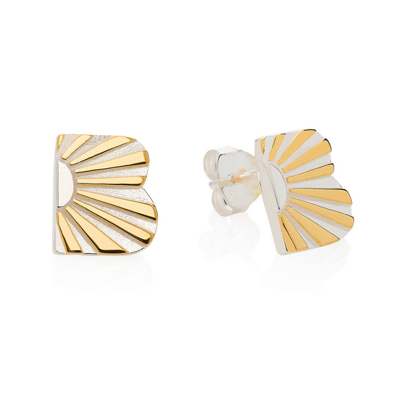 Art Deco Earring Letter B Earrings
