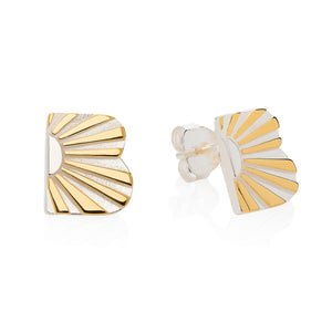 Ray B Ear Studs - Joy Everley Fine Jewellers, London