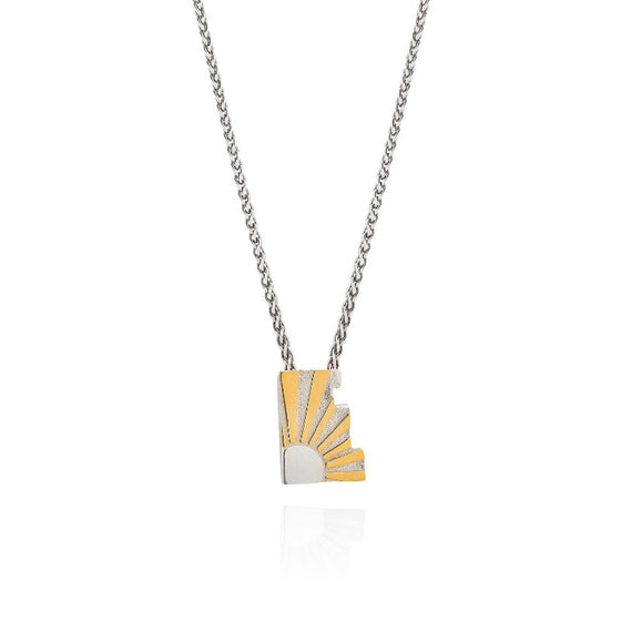 Art Deco Necklace Letter E Necklace