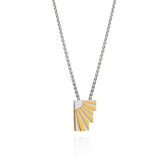 Art Deco Necklace Letter F Necklace