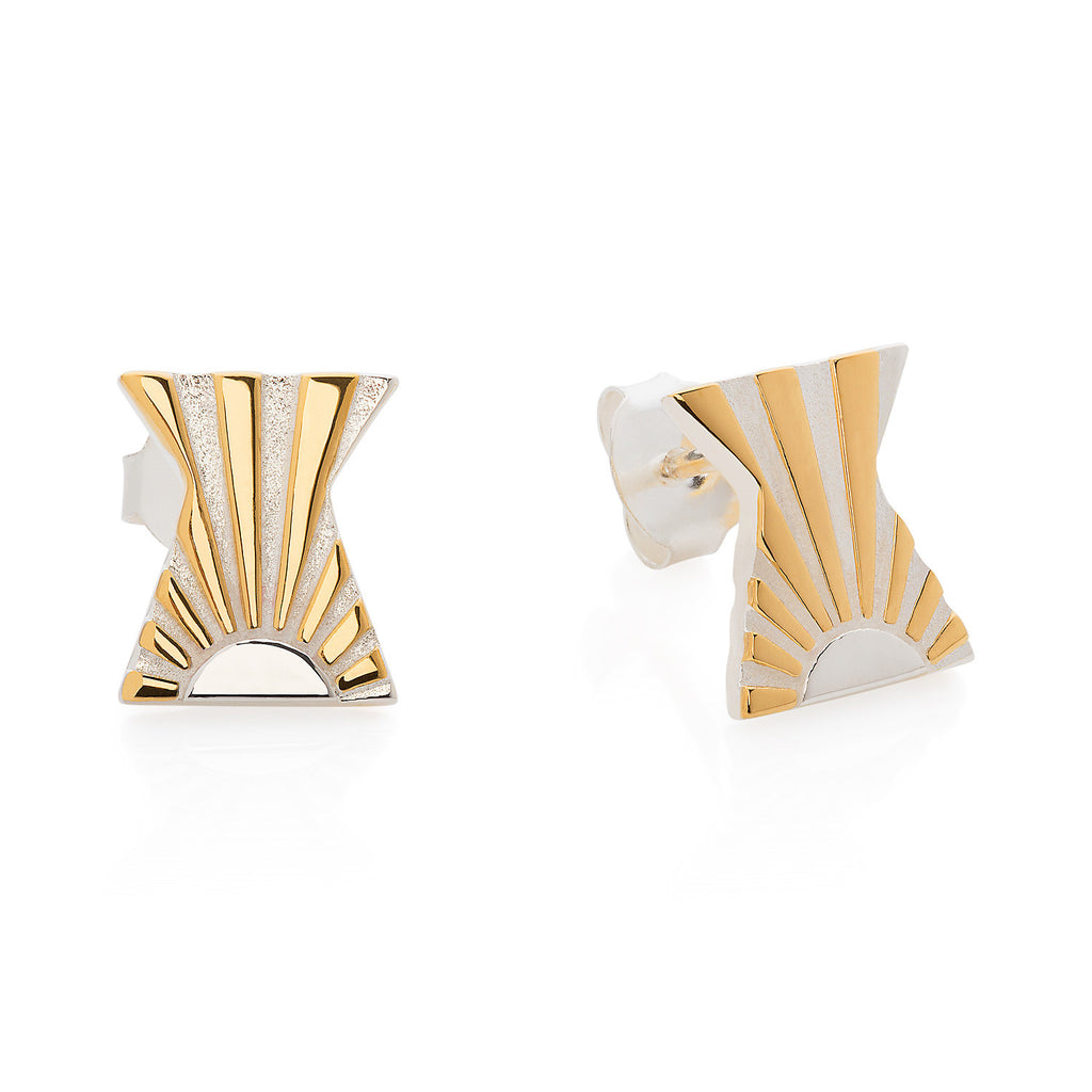 Art Deco Earring Letter X Earrings